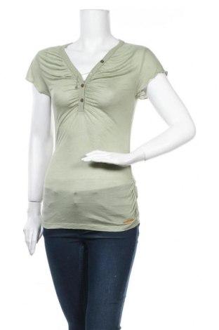 Дамска блуза Khujo, Размер M, Цвят Зелен, Модал, Цена 10,92лв.
