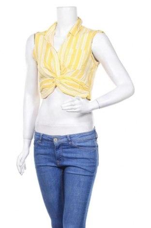 Дамска блуза Lily Whyt, Размер S, Цвят Жълт, Вискоза, Цена 4,64лв.