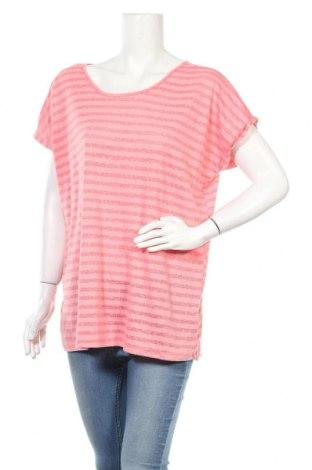 Дамска блуза Liv, Размер XXL, Цвят Розов, 60% полиестер, 40% памук, Цена 16,07лв.