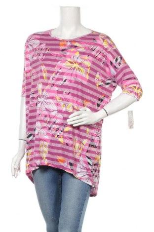 Дамска блуза LulaRoe, Размер S, Цвят Розов, 73% полиестер, 23% вискоза, 4% еластан, Цена 25,94лв.