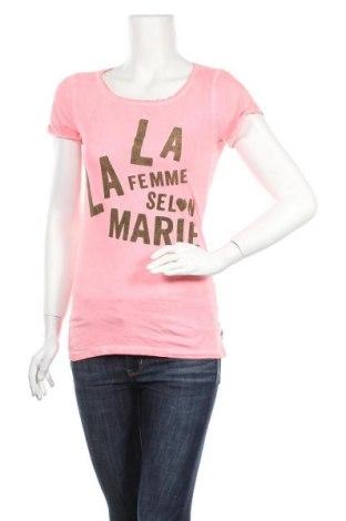 Γυναικεία μπλούζα Maison Scotch, Μέγεθος S, Χρώμα Ρόζ , Βαμβάκι, Τιμή 15,46€