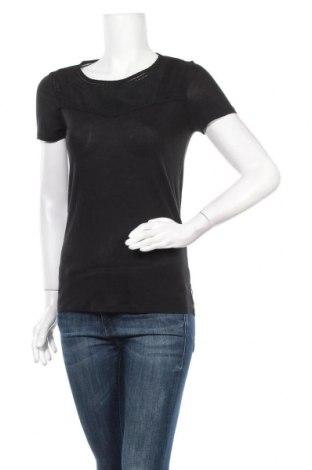 Γυναικεία μπλούζα Maison Scotch, Μέγεθος S, Χρώμα Μαύρο, Lyocell, Τιμή 20,26€