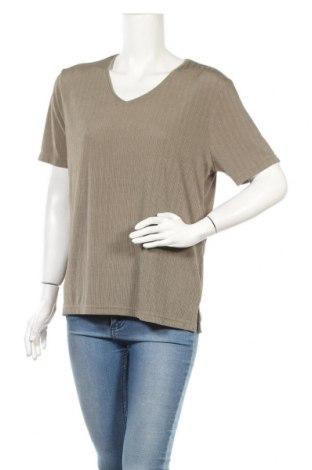 Γυναικεία μπλούζα Malva, Μέγεθος M, Χρώμα Πράσινο, 91% πολυεστέρας, 9% ελαστάνη, Τιμή 3,51€