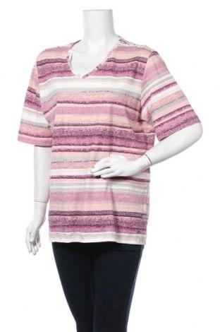 Дамска блуза Malva, Размер XL, Цвят Многоцветен, Памук, Цена 15,17лв.