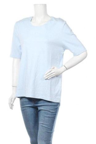 Дамска блуза Marco Pecci, Размер XXL, Цвят Син, Памук, Цена 17,01лв.