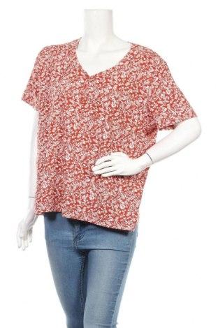 Дамска блуза Mark Adam, Размер XL, Цвят Кафяв, 95% памук, 5% еластан, Цена 4,73лв.