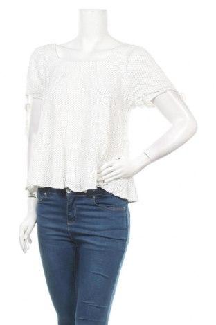 Дамска блуза Maurices, Размер L, Цвят Бял, Вискоза, Цена 13,23лв.