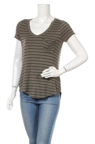 Дамска блуза Maurices, Размер S, Цвят Зелен, 96% вискоза, 4% еластан, Цена 16,96лв.