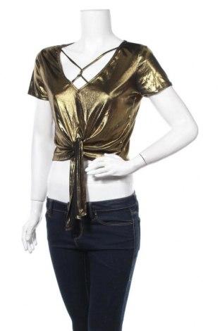 Дамска блуза Maze, Размер S, Цвят Златист, Цена 13,44лв.