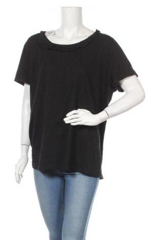 Дамска блуза Merona, Размер XXL, Цвят Черен, Памук, Цена 27,93лв.