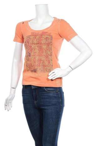 Дамска блуза Mexx, Размер S, Цвят Оранжев, Памук, Цена 14,70лв.
