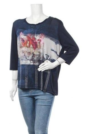 Γυναικεία μπλούζα Michele Boyard, Μέγεθος XXL, Χρώμα Μπλέ, Βισκόζη, πολυεστέρας, ελαστάνη, Τιμή 8,18€