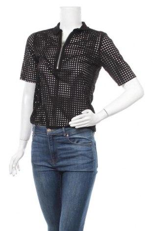 Дамска блуза Minimum, Размер XS, Цвят Черен, Полиестер, Цена 32,13лв.