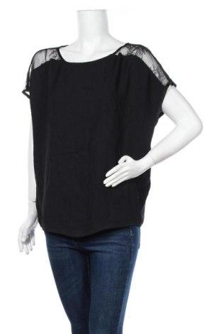 Дамска блуза Mint Velvet, Размер M, Цвят Черен, Полиестер, Цена 64,26лв.