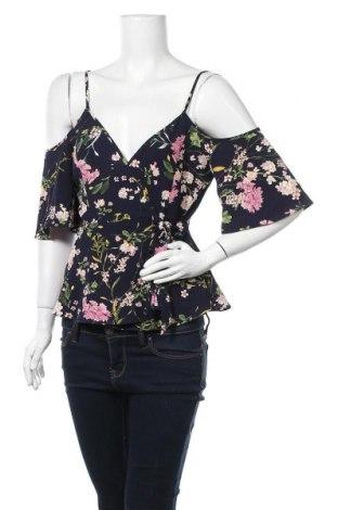 Дамска блуза Monteau, Размер S, Цвят Син, 95% полиестер, 5% еластан, Цена 12,50лв.