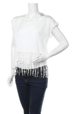 Дамска блуза Monteau, Размер M, Цвят Бял, Полиестер, Цена 3,94лв.