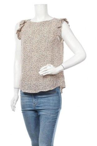 Дамска блуза Monteau, Размер M, Цвят Многоцветен, 97% полиестер, 3% еластан, Цена 4,99лв.