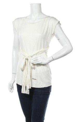 Дамска блуза Morgan De Toi, Размер S, Цвят Екрю, Вискоза, Цена 12,60лв.