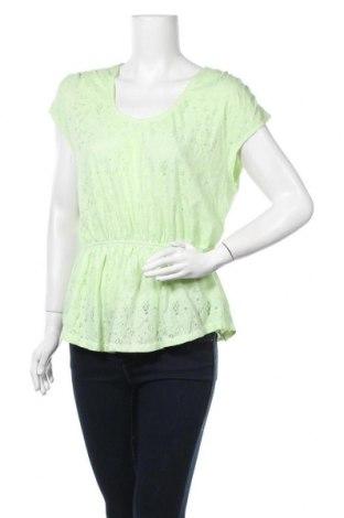 Дамска блуза Mossimo, Размер L, Цвят Зелен, 55% памук, 45% полиестер, Цена 15,75лв.