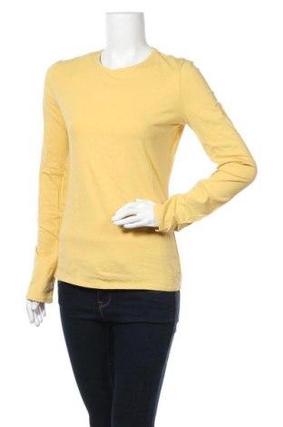 Дамска блуза Mossimo, Размер M, Цвят Жълт, 95% памук, 5% еластан, Цена 9,45лв.