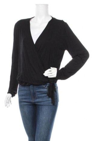 Дамска блуза Mossimo, Размер XXL, Цвят Черен, 97% вискоза, 3% еластан, Цена 17,96лв.