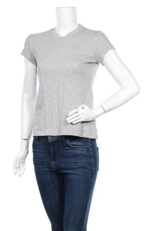 Γυναικεία μπλούζα Mtwtfss Weekday, Μέγεθος S, Χρώμα Γκρί, 67% βισκόζη, 15% μεταλλικά νήματα, 14% πολυαμίδη, 4% ελαστάνη, Τιμή 3,86€