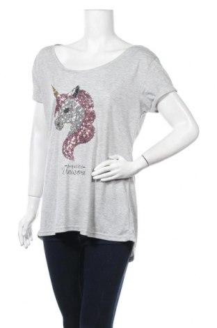 Дамска блуза My Hailys, Размер XL, Цвят Сив, 65% полиестер, 35% вискоза, Цена 12,60лв.