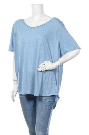 Дамска блуза My Style, Размер 3XL, Цвят Син, 65% полиестер, 35% вискоза, Цена 13,39лв.