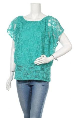 Дамска блуза New Directions, Размер XL, Цвят Зелен, Полиестер, Цена 17,75лв.