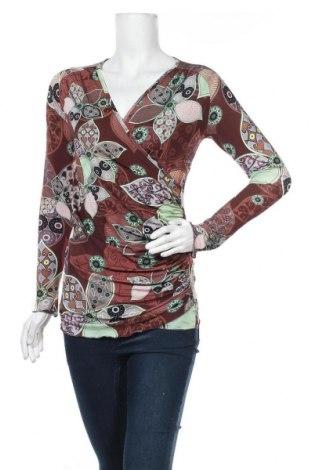 Дамска блуза Nicowa, Размер L, Цвят Многоцветен, Вискоза, полиестер, еластан, полиамид, Цена 39,27лв.