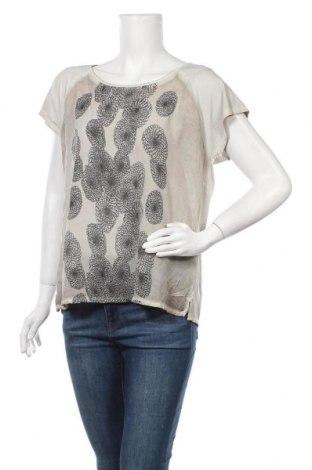 Дамска блуза Nile, Размер L, Цвят Бежов, 50% памук, 45% вискоза, 5% еластан, Цена 35,70лв.