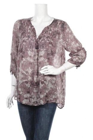 Дамска блуза Nile, Размер L, Цвят Многоцветен, 100% коприна, Цена 63,84лв.
