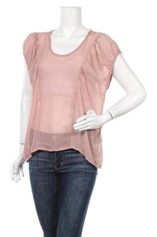 Дамска блуза ONLY, Размер M, Цвят Розов, Полиестер, Цена 4,46лв.