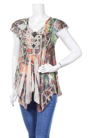 Дамска блуза One World, Размер S, Цвят Многоцветен, Цена 4,73лв.