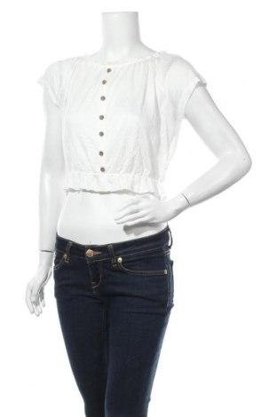 Дамска блуза Page One, Размер S, Цвят Бял, 95% вискоза, 4% полиестер, 1% еластан, Цена 17,85лв.