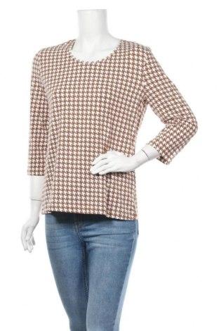 Дамска блуза Peter Hahn, Размер L, Цвят Кафяв, 95% памук, 5% еластан, Цена 23,52лв.