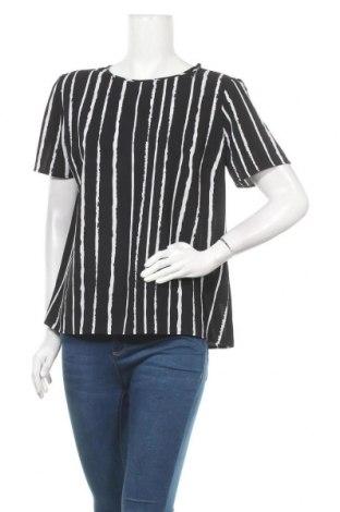 Дамска блуза Pieces, Размер L, Цвят Черен, 97% полиестер, 3% еластан, Цена 18,90лв.