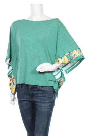 Дамска блуза Pietro Filipi, Размер M, Цвят Зелен, 96% вискоза, 4% еластан, Цена 33,08лв.
