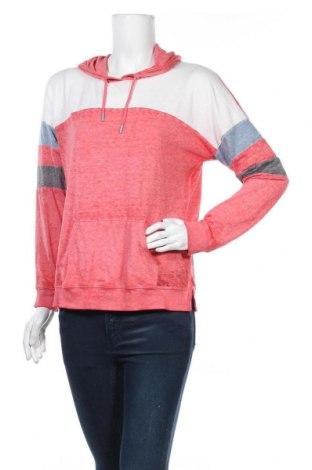 Γυναικεία μπλούζα Pink Rose, Μέγεθος L, Χρώμα Κόκκινο, 55% βαμβάκι, 45% βισκόζη, Τιμή 4,55€