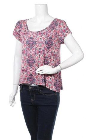 Γυναικεία μπλούζα Pink Rose, Μέγεθος L, Χρώμα Πολύχρωμο, Βισκόζη, Τιμή 5,91€