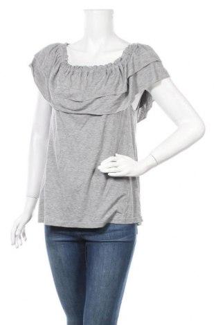 Дамска блуза Project Unknown, Размер M, Цвят Сив, 96% вискоза, 4% еластан, Цена 4,20лв.