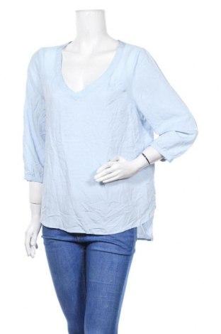 Дамска блуза Reitmans, Размер XL, Цвят Син, Вискоза, Цена 18,95лв.