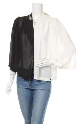 Дамска блуза Rinascimento, Размер M, Цвят Черен, Полиестер, Цена 59,40лв.