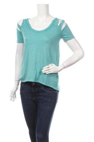 Γυναικεία μπλούζα Rock & Republic, Μέγεθος XS, Χρώμα Πράσινο, 51% βαμβάκι, 49% πολυεστέρας, Τιμή 8,57€