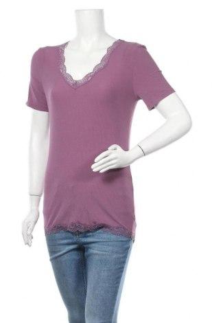 Γυναικεία μπλούζα Schiesser, Μέγεθος S, Χρώμα Βιολετί, 90% μοντάλ, 10% ελαστάνη, Τιμή 9,28€