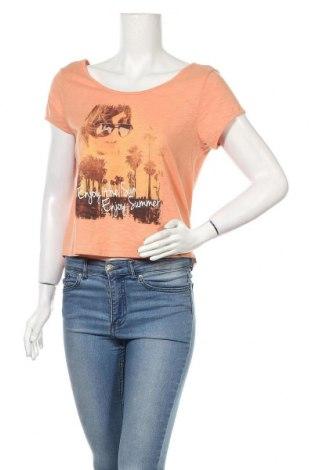 Дамска блуза Sublevel, Размер XS, Цвят Оранжев, Цена 10,29лв.