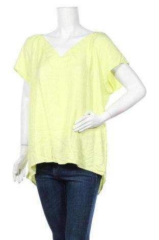 Γυναικεία μπλούζα Suzanne Grae, Μέγεθος XL, Χρώμα Κίτρινο, Βισκόζη, πολυεστέρας, Τιμή 9,94€
