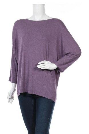 Дамска блуза Tahari, Размер XL, Цвят Лилав, 95% модал, 5% еластан, Цена 30,24лв.