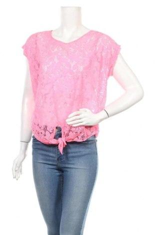 Дамска блуза Tally Weijl, Размер M, Цвят Розов, Полиамид, Цена 4,20лв.