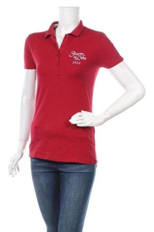 Дамска блуза Tee Jays, Размер M, Цвят Червен, 95% памук, 5% еластан, Цена 17,01лв.
